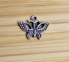 Bedel Vlinder, zilverkleurig