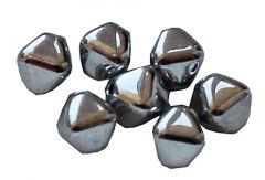 Bicone Crystal full labrador 6mm. Per 25 stuks.