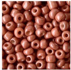 Rocailles 6/0 Cedar Bruin, per 10 gram.