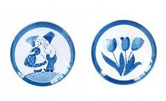 Cabochon set delftsblauw 1, 12mm per stuk