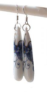 Oorbellen magische Vlinder, 45mm