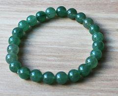 Armband Aventurijn groen 8mm kralen