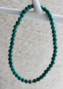 Armband Turkoois groen 4mm
