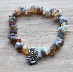 Split armband Agaat Botswana