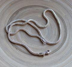 Metalen halsketting voor groot gat kralen