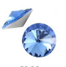 Rivoli preciosa puntsteen 12mm licht saffierblauw