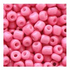 Rocailles rood roze 6/0, 10 gram