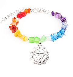 Split armband regenboog chakra