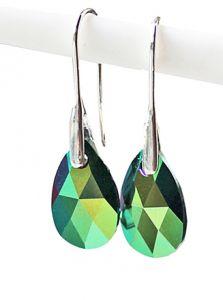 Oorbellen Swarovski Crystal Rainbow 16x9.5mm