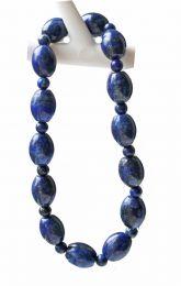 Armband Lapis Lazuli 10x8mm