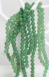Snoer Aventurijn groen 10mm