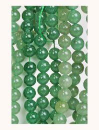 Snoer Aventurijn groen 6mm kralen