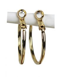 Creolen gold plated 30mm, set