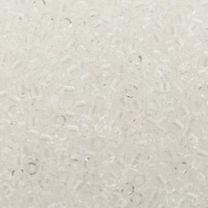 Delica 11/0 Miyuki Transparant Crystal. Per 5 gram.