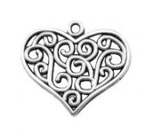 Bedel Hart barok antiek zilver, perstuk.