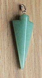 Hanger Aventurijn groen, pijlpunt