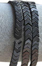 Armband Hematiet zwarte pijl