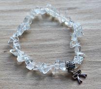 Armband Bergkristal splitkralen