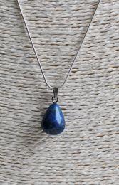 Ketting met druppel Lapis Lazuli