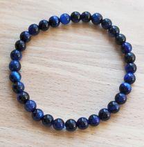 Armband Tijgeroog blauw 6mm