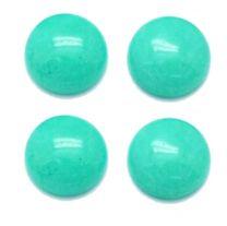 Cabochon / plaksteen Jade blauw/groen 12mm. Per stuk.