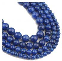 Snoer Jade blauw 8mm