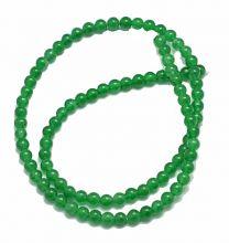 Snoer Jade groen 4mm