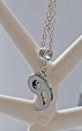 Ketting met Yin-Yang hanger