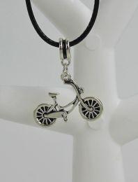Halsketting met fiets