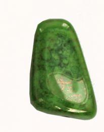 Glaskraal groen, langwerpig. Per stuk