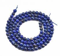 Half snoer Lapis Lazuli 3mm kralen