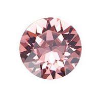 Swarovski punt kristal Rose blush, 8mm, ss39