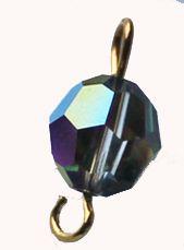 Swarovski kristalkraal Crystal Vitrail medium 8mm. Per stuk.