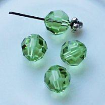 Swarovski kristalkraal Peridot 8mm. Per stuk.