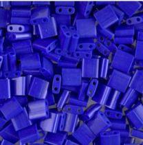 Miyuki Tila kraaltjes, opaque cobalt blauw. Per 5 gram.