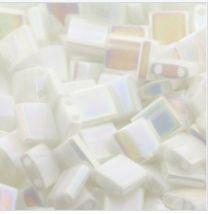 Miyuki Tila kraaltjes Parel wit opaque