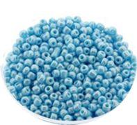 Rocailles turkoois blauw 12/0. Per 10 gram